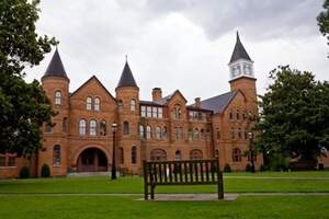 NSU's Seminary Hall