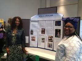 Social Work Students Presenting