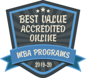 Best Value Accredited Online. MBA Programs 2019-20