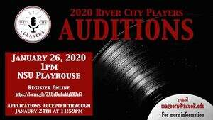 audition announcement poster