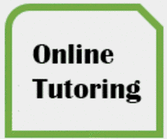 Thumbnail with words ONLINE TUTORING