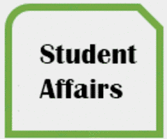 Thumbnail with words STUDENT AFFAIRS WEBSITE
