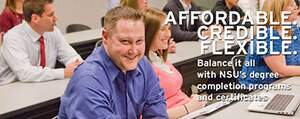 affordable and flexible programs for a bachelor's degree in organizationl leadership