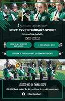 sign up poster for nsu band to recruit members