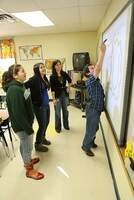 nsu teacher in the classroom