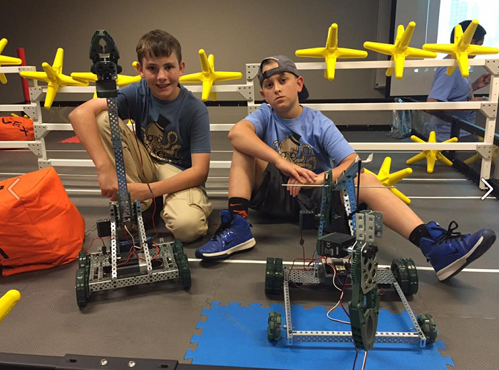 Bots ready to compete in Summer Youth Academies