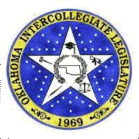 oklahoma intercollegiate legislature logo