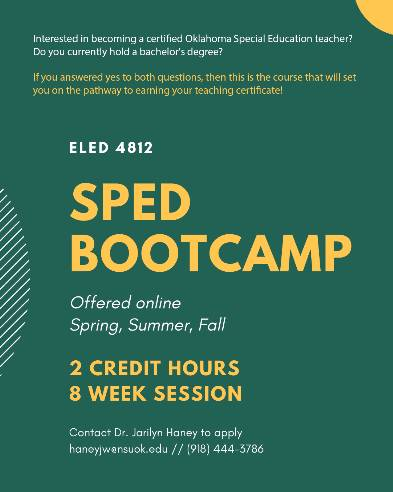 SPED Boot camp