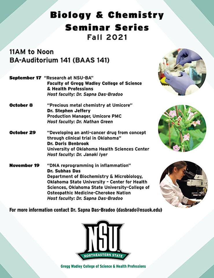 Biology Seminar Poster
