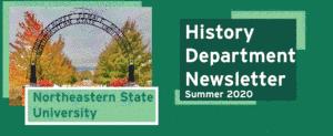 Image of 2020 newsletter header