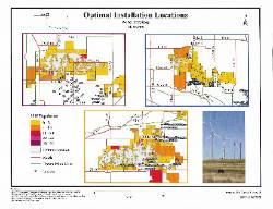 nsu geography student created map of wind turbines in oklahoma