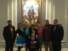 oil delegation at the capitol for session