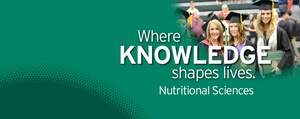 Where Knowedge shapes lives - Nutritional Sciences