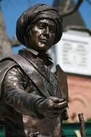 sequoyah statue at northeastern state university