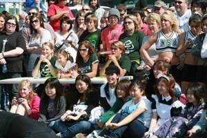 nsu students at homecoming